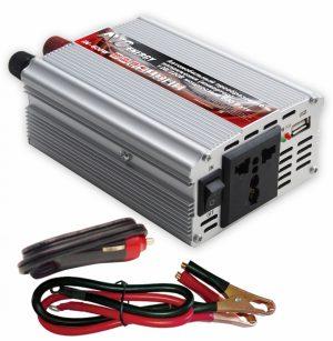 Автомобильный инвертор 12/220V AVS IN-600W
